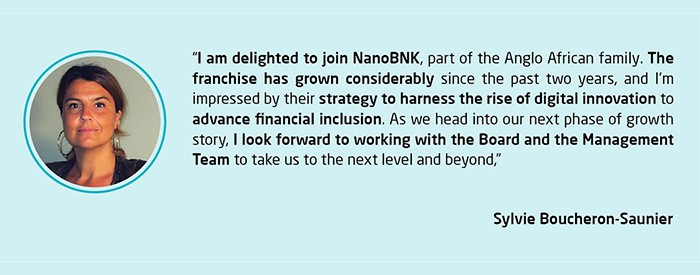 Sylvie Boucheron-Saunier appointed as Chairperson of NanoBNK